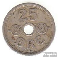 Dänemark KM-Nr. : 823 1940 Vorzüglich Kupfer-Nickel Vorzüglich 1940 25 Öre Gekröntes Monogramm - Dänemark