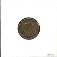 Deutsches Reich Jägernr: 316 1935 A Vorzüglich Aluminium-Bronze 1935 5 Reichspfennig Ähren - [ 4] 1933-1945 : Third Reich