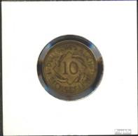 Deutsches Reich Jägernr: 317 1935 J Sehr Schön Aluminium-Bronze Sehr Schön 1935 10 Reichspfennig Ähren - [ 4] 1933-1945 : Third Reich