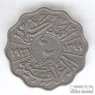 Irak 97 1933 Sehr Schön Nickel Sehr Schön 1933 4 Fils Faisal I. - Iraq