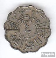 Irak 105 1938 I Typ A Sehr Schön Kupfer-Nickel Sehr Schön 1938 4 Fils Ghazi I. - Irak