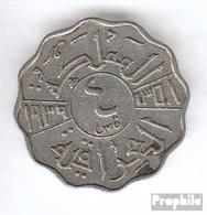 Irak 105 1938 Sehr Schön Nickel Sehr Schön 1938 4 Fils Ghazi I. - Irak