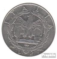 Italien KM-Nr. : 78 1940 A Vorzüglich Stahl Vorzüglich 1940 2 Lire Vittorio Emanuele III. - 1861-1946: Königreich