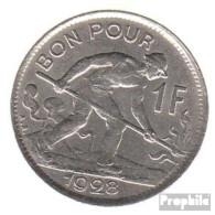 Luxemburg KM-Nr. : 35 1935 Vorzüglich Nickel Vorzüglich 1935 1 Franc Gekröntes Monogramm - Luxembourg