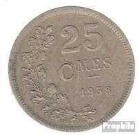 Luxemburg KM-Nr. : 42 1938 Sehr Schön Kupfer-Nickel Sehr Schön 1938 25 Centimes Wappen - Luxembourg
