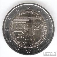 Österreich 2016 Stgl./unzirkuliert Auflage: 16 Mio. Stgl./unzirkuliert 2016 2 Euro 200 Jahre Nationalbank - Austria