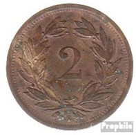 Schweiz KM-Nr. : 4 1945 Sehr Schön Zink Sehr Schön 1945 2 Rappen Wappen - Schweiz
