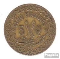 Syrien KM-Nr. : 70 1935 Sehr Schön Aluminium-Bronze Sehr Schön 1935 5 Piastres Französisches Protektora - Syrien