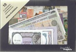 Afrika 10 Verschiedene Banknoten - Banknoten