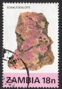 Cobaltocalcite Fine Used Stamp Zambia - Minerals