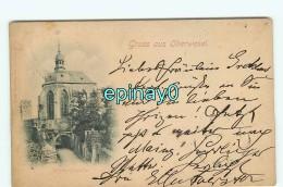 B - ALLEMAGNE - GRUSS AUS OBERWESEL - PRIX FIXE - Carte Expediee En 1898 - Oberwesel