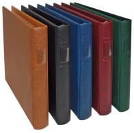 Lindner 2810-B LINDNER Banknoten-Album (mit Weißen Zwischenblättern)-blau - Supplies And Equipment