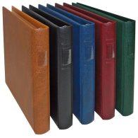 Lindner 2815-B LINDNER Banknoten-Album (mit Schwarzen Zwischenblättern)-blau - Supplies And Equipment