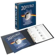 Lindner 3536M PUBLICA M Vordruckalbum 20 Euro-Silbermünzen Deutschland - Supplies And Equipment