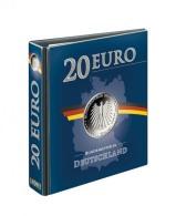 Lindner 3536R PUBLICA M Vordruckalbum 20 Euro-Silbermünzen Deutschland, Leer - Supplies And Equipment