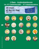 SAFE 7341-15 Premium Münzblatt Für 2 Euro Des Jahres 2015 - Supplies And Equipment