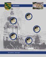 SAFE 7821-11 Einzelblatt 2 Euro Sachsen - Supplies And Equipment