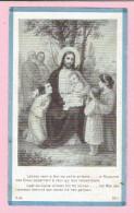 Bidprentje  - Maria Theresia Elisabeth HUIJBS - Netersel 1914 - 1919 (drukkerij Joseph Spichal Turnhout) - Images Religieuses