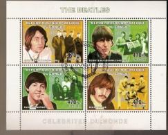 Congo & Pintura, Celebridades,  The Beatles 2006 (4) - Mint/hinged