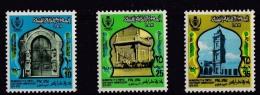 Libya, (Sc # 514-6), MNH, (Set Of 3),Gate Of 1st City Hall, Centenary Of Tripoli As A Municipality (1973) - Libya