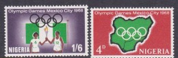 Olympic Games 1968 Mexico Nigeria MNH - Summer 1968: Mexico City
