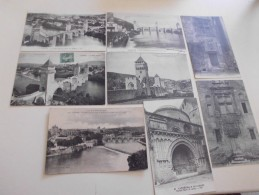 Lot De 8 CARTES DE CAHORS (LOT) ... - Cartes Postales