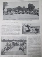 1905 L Automobile Au Pays Des Rajahs Inde  Course Auto  DEHLI-BOMBAY Rajah India Kalyan Race Car - Documentos Antiguos
