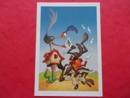 Entier Postale USA Dessins Animés BIP BIP Et  COYOTE  BD The 2000 Wile E.Coyote & Road Runner Stamp - Comics