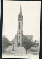 CPA - LAMBEZELLEC - L'Eglise  (dos Non Divisé) - Frankreich