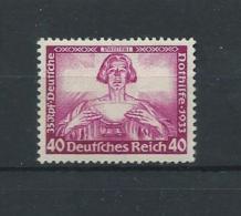 IIIème REICH  1933  WAGNER Mi 507 MNH/** - Nuevos