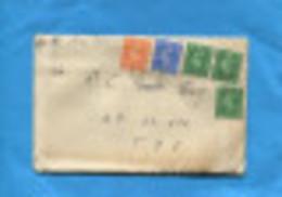 Marcophilie- Guerre-Indochine-lettre- Grande Bretagne> Cad-1949-  Pour Militaire En Indo-SP 62373 T O E - Marcophilie (Lettres)