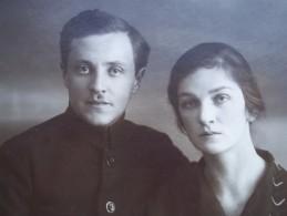 USSR. Soviet Family. 1927 - Personas Anónimos