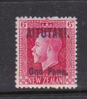 Cook Islands -Aitutaki SG 17 1917  6d Carmone Mint - Cook Islands