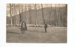 Cp , Agriculture , élevage , Métier , BERGERS , Moutons , Environs De LOURDES , Vierge ,65 , Hautes Pyrénées - Paesani