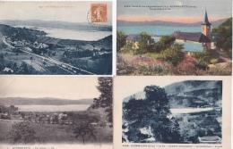 16 / 7 / 318  -  Lot  De  7  CPA  DU  LAC D'AIGUEBELETTE  (73 )  - Toutes Scanées - 5 - 99 Karten