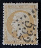 NAPOLEON III 1862 - OBLITERE - YT 21 - MI 20 - GROS CHIFFRES - 1862 Napoleon III