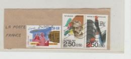Frankreich 189 / Ausschnitt Mit Zd + Einzelmarke  1992  O - Frankreich