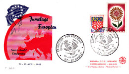 MOSELLE  / 1965 JUMELAGE EUROPEEN SAINT AVOLD / DUDWEILER - Covers & Documents