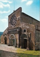 1 AK Italien * Die Basilika Santa Maria Maggiore In Der Stadt Tuscania - Erbaut Vom 9. Bs 11. Jh. - Italia