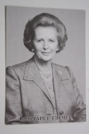 Margaret Hilda Thatcher, Baroness Thatcher - MODERN POSTCARD - Dagostini Edition - Ohne Zuordnung