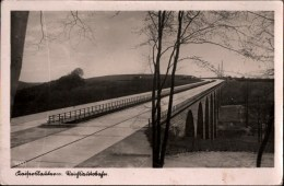 ! Alte Ansichtskarte, Kaiserslautern, Reichsautobahn, Brücke - Kaiserslautern