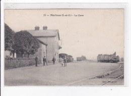 MARINES : La Gare - Très Bon état - Marines