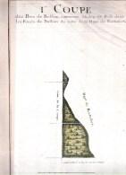 9 Aquarelles Originales 18e Siècle Des Bois De Bullion,les Fonds De Bullion.yvelines (78) 405 X 245 Mm. - Aquarelles