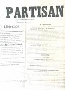 Le Partisan   Septembre 1944 - Posters