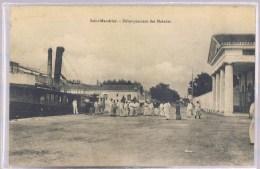 SAINT - MANDRIER . Débarquement Des Malades . - Saint-Mandrier-sur-Mer