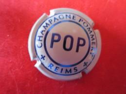 POMMERY. POP . Quart Blanc Et Bleu - Pomméry