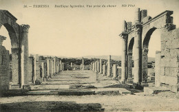 Algérie - Tébessa - Basilique Byzantine - Vue Prise Du Choeur - Bon état - Tebessa