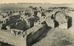 Algérie - Tébessa - Vue Générale Des Ruines De La Basilique - Bon état - Tebessa