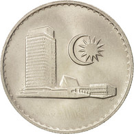 Malaysie, 20 Sen, 1987, Franklin Mint, SUP+, Copper-nickel, KM:4 - Malaysie
