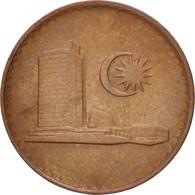 Malaysie, Sen, 1988, TTB+, Copper Clad Steel, KM:1a - Malaysie